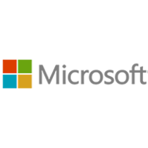 Partners with Leading Brands - Microsoft Logo
